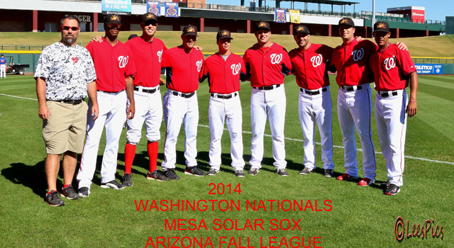 L to R: T.D. Swinford (trainer), Felipe Rivero, Matt Grace, Patrick Anderson, Tony Renda, Spencer Kieboom, Neil Holland, Derek Self, Pedro Severino